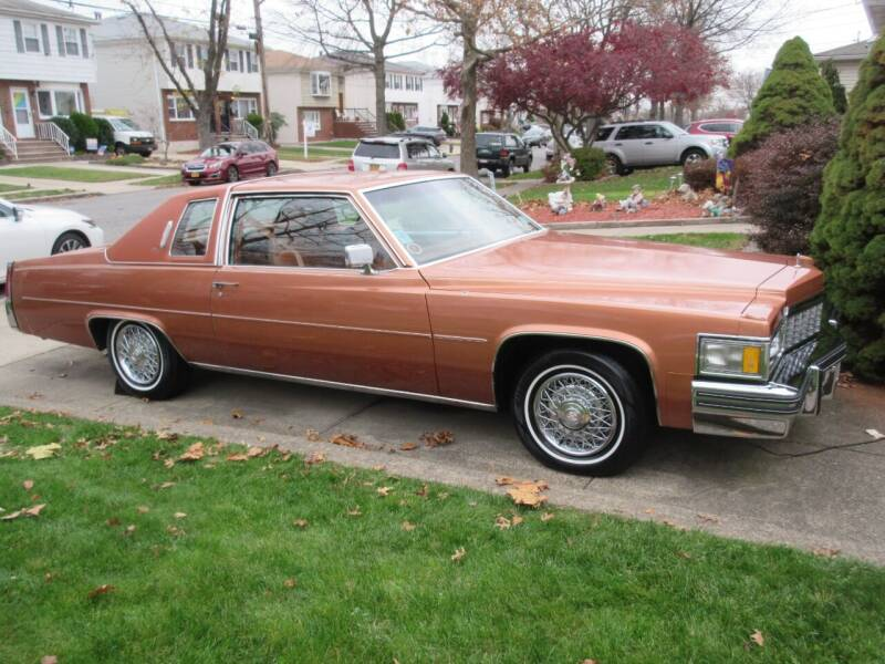 1977 Cadillac DeVille for sale at Island Classics & Customs in Staten Island NY