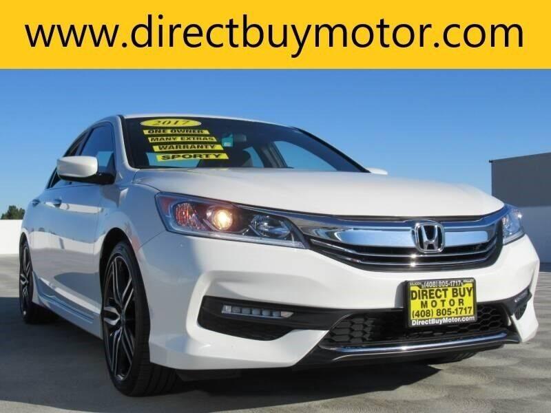 2017 Honda Accord for sale at Direct Buy Motor in San Jose CA