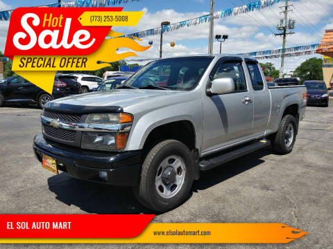 2012 Chevrolet Colorado for sale at EL SOL AUTO MART in Franklin Park IL