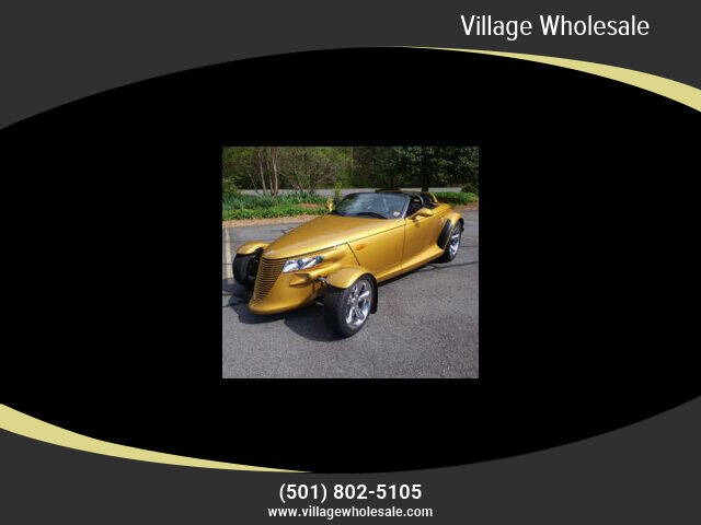 2002 Chrysler Prowler for sale at Village Wholesale in Hot Springs Village AR