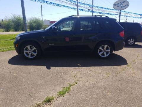 2009 BMW X5 for sale at Frontline Auto Sales in Martin TN