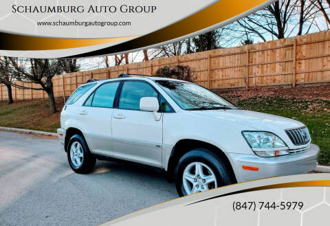 2002 Lexus RX 300 for sale at Schaumburg Auto Group in Schaumburg IL