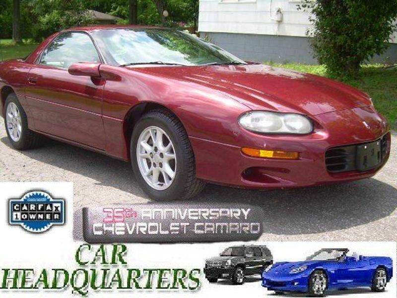 2002 Chevrolet Camaro for sale at CAR  HEADQUARTERS in New Windsor NY
