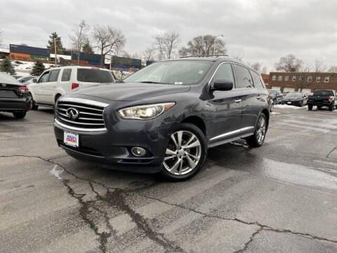 2014 Infiniti QX60 Hybrid for sale at Sonias Auto Sales in Worcester MA