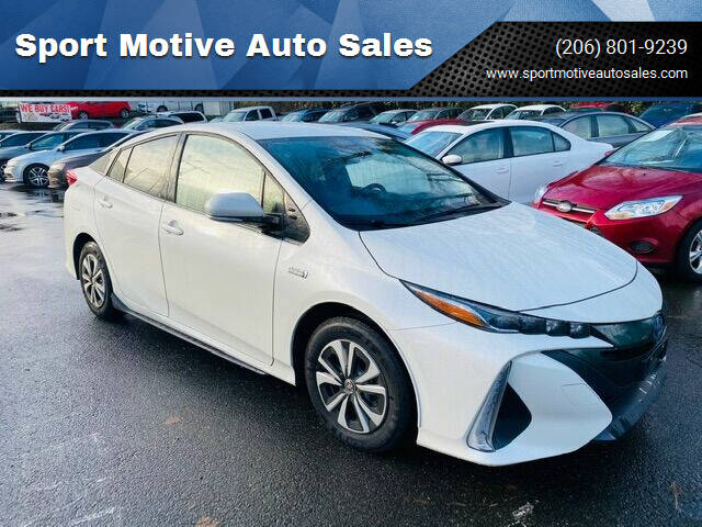 2017 Toyota Prius Prime for sale at Sport Motive Auto Sales in Seattle WA