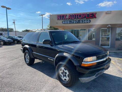 2001 Chevrolet Blazer for sale at NTX Autoplex in Garland TX
