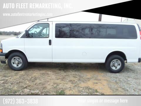 2017 Chevrolet Express Passenger for sale at AUTO FLEET REMARKETING, INC. in Van Alstyne TX