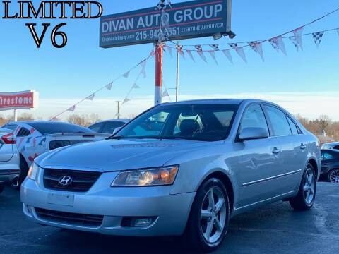2007 Hyundai Sonata for sale at Divan Auto Group in Feasterville PA