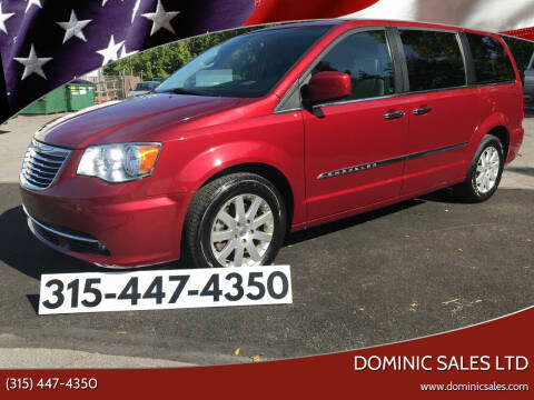 2016 Chrysler Town and Country for sale at Dominic Sales LTD in Syracuse NY