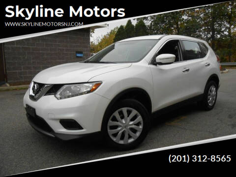 2014 Nissan Rogue for sale at Skyline Motors in Ringwood NJ