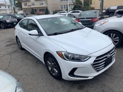 2018 Hyundai Elantra for sale at Park Avenue Auto Lot Inc in Linden NJ