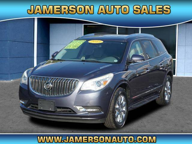 2013 Buick Enclave for sale at Jamerson Auto Sales in Anderson IN