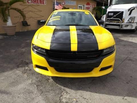2018 Dodge Charger for sale at VALDO AUTO SALES in Miami FL