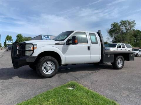 2011 Ford F-250 Super Duty for sale at P & R Auto Sales in Pocatello ID