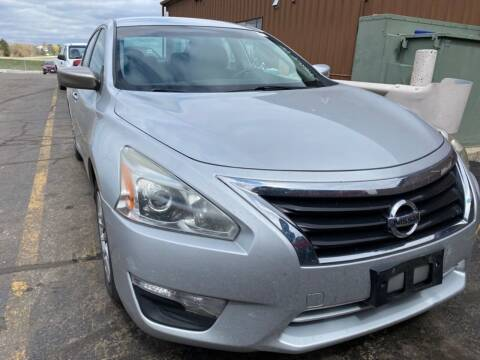 2013 Nissan Altima for sale at Best Auto & tires inc in Milwaukee WI