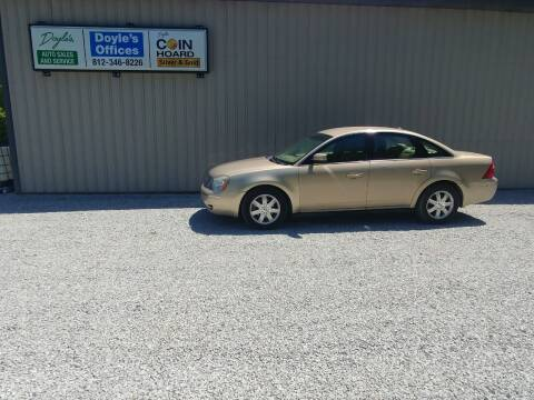 2007 Ford Five Hundred for sale at Doyle's Auto Sales and Service in North Vernon IN