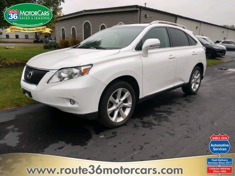 2011 Lexus RX 350 for sale at ROUTE 36 MOTORCARS in Dublin OH