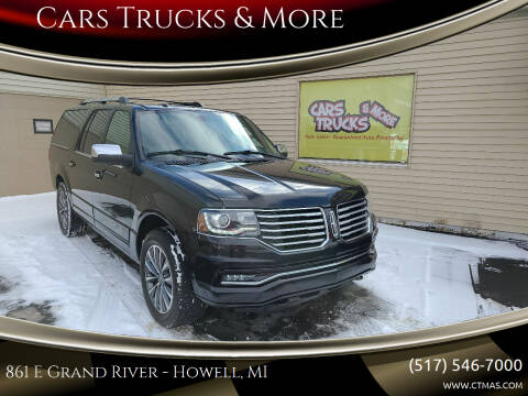 2016 Lincoln Navigator L for sale at Cars Trucks & More in Howell MI