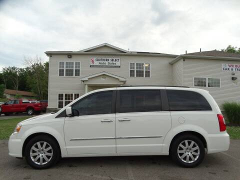 2011 Chrysler Town and Country for sale at SOUTHERN SELECT AUTO SALES in Medina OH