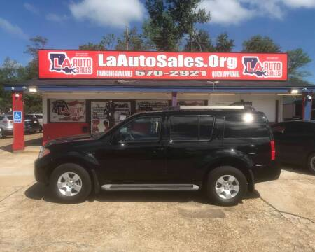 2011 Nissan Pathfinder for sale at LA Auto Sales in Monroe LA