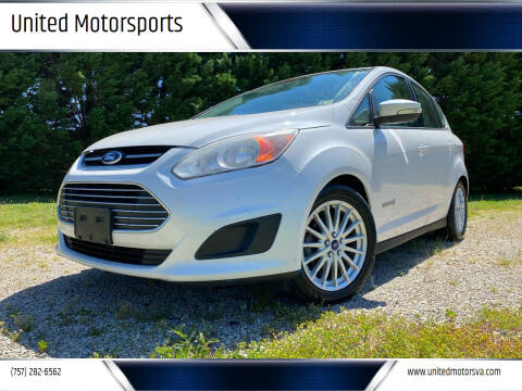 2013 Ford C-MAX Hybrid for sale at United Motorsports in Virginia Beach VA