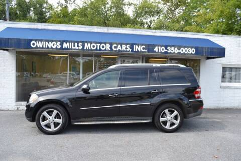 2009 Mercedes-Benz GL-Class for sale at Owings Mills Motor Cars in Owings Mills MD