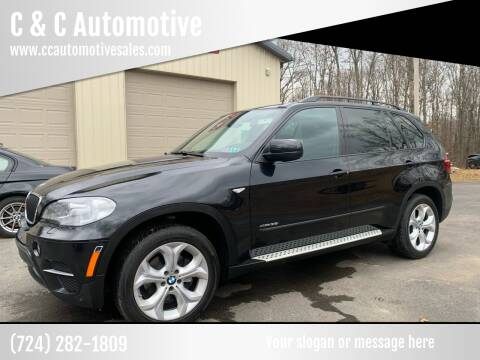 2012 BMW X5 for sale at C & C Automotive in Chicora PA