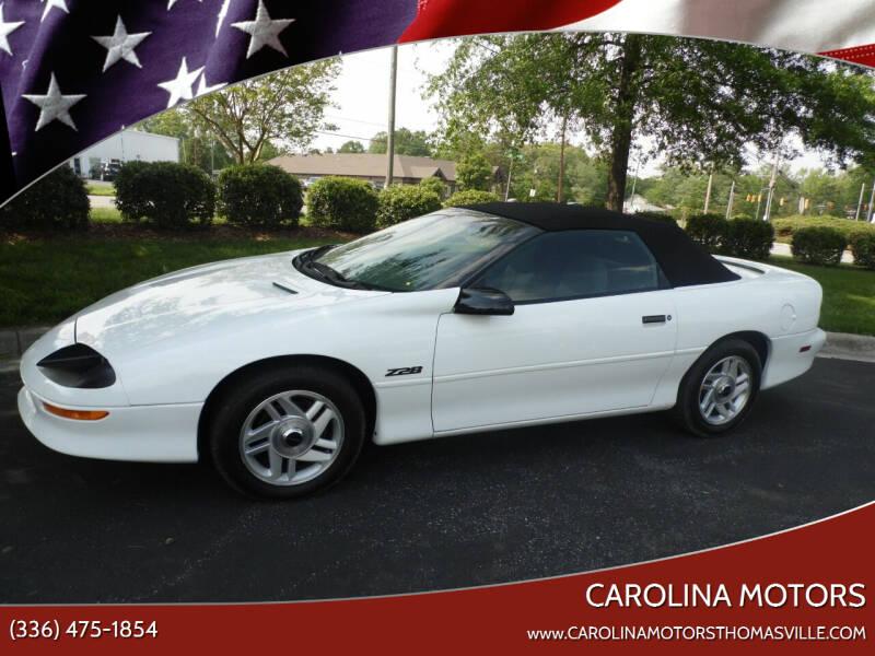 1994 Chevrolet Camaro for sale at CAROLINA MOTORS - Carolina Classics & More-Thomasville in Thomasville NC