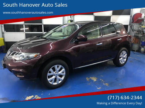 2014 Nissan Murano for sale at South Hanover Auto Sales in Hanover PA