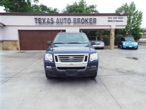 2007 Ford Explorer Sport Trac for sale at Texas Auto Broker in Killeen TX