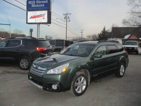 2014 Subaru Outback for sale at Mill Street Motors in Worcester MA