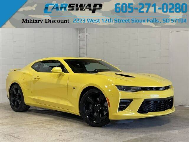 2017 Chevrolet Camaro for sale at CarSwap in Sioux Falls SD