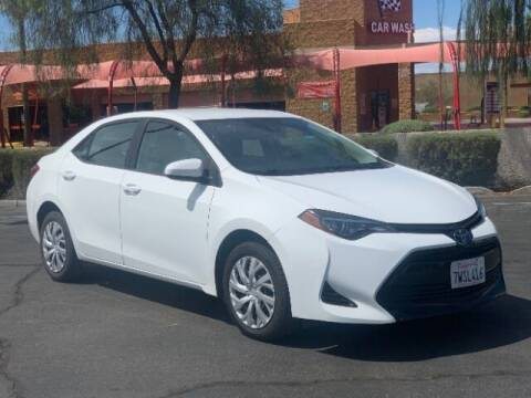 2017 Toyota Corolla for sale at Curry's Cars Powered by Autohouse - Brown & Brown Wholesale in Mesa AZ