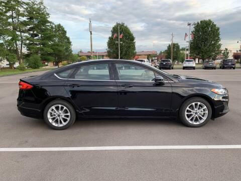 2020 Ford Fusion Hybrid for sale at St. Louis Used Cars in Ellisville MO