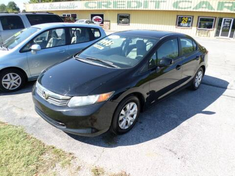 2012 Honda Civic for sale at Credit Cars of NWA in Bentonville AR