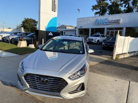 2019 Hyundai Sonata Hybrid for sale at NYC Motorcars in Freeport NY