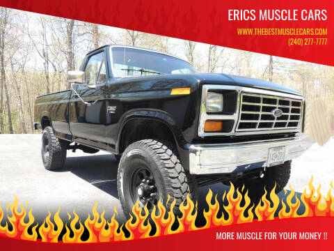 1986 Ford F-350 for sale at Erics Muscle Cars in Clarksburg MD