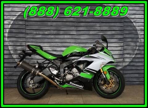 2015 Kawasaki Ninja ZX-6R for sale at AZautorv.com in Mesa AZ