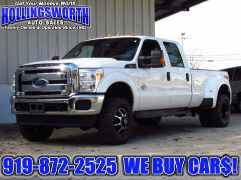 2016 Ford F-350 Super Duty for sale at Hollingsworth Auto Sales in Raleigh NC
