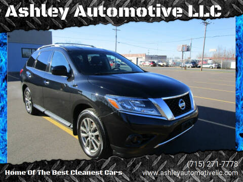 2015 Nissan Pathfinder for sale at Ashley Automotive LLC in Altoona WI