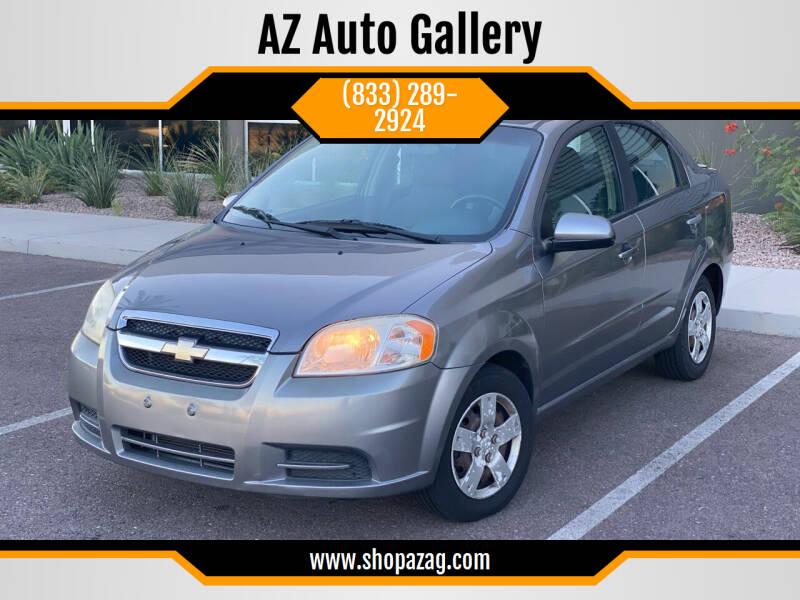 2011 Chevrolet Aveo for sale at AZ Auto Gallery in Mesa AZ