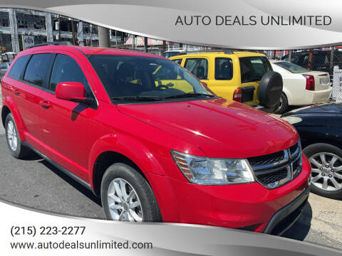 2013 Dodge Journey for sale at AUTO DEALS UNLIMITED in Philadelphia PA