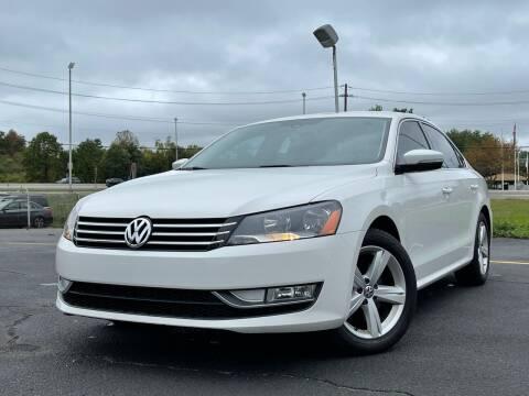 2015 Volkswagen Passat for sale at MAGIC AUTO SALES in Little Ferry NJ
