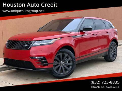 2018 Land Rover Range Rover Velar for sale at Houston Auto Credit in Houston TX