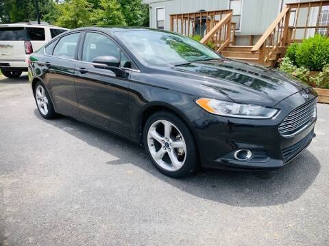 2014 Ford Fusion for sale at BRYANT AUTO SALES in Bryant AR