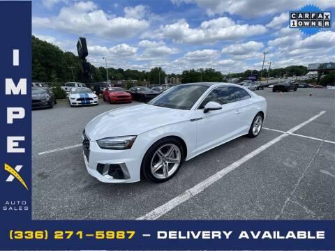 2020 Audi A5 for sale at Impex Auto Sales in Greensboro NC