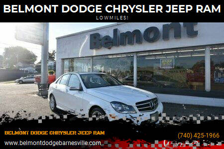 2014 Mercedes-Benz C-Class for sale at BELMONT DODGE CHRYSLER JEEP RAM in Barnesville OH