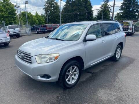 2008 Toyota Highlander for sale at TacomaAutoLoans.com in Lakewood WA