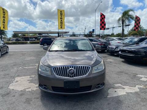 2010 Buick LaCrosse for sale at America Auto Wholesale Inc in Miami FL