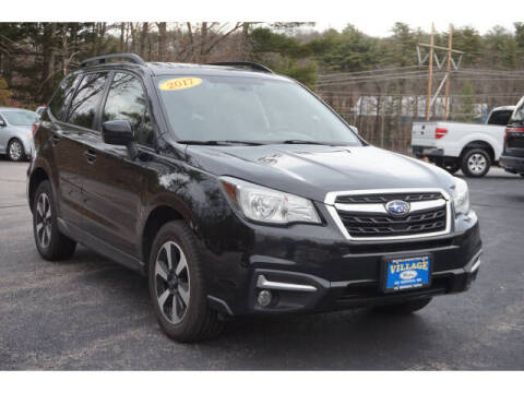 2017 Subaru Forester for sale at VILLAGE MOTORS in South Berwick ME